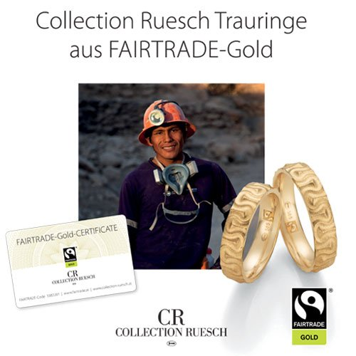Trauringe aus Fair Trade Gold