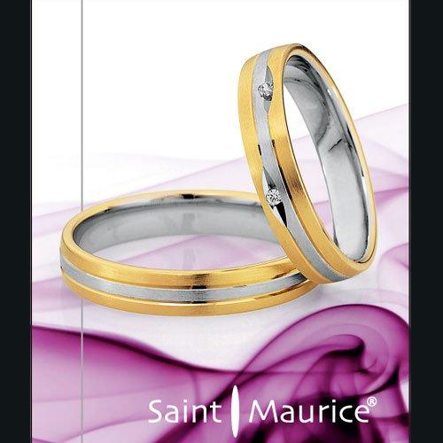 Saint Maurice Light Ringe Trauringe Eheringe in Bochum aus Platin Palladium Weißgold Graugold Rotgold Gelbgold