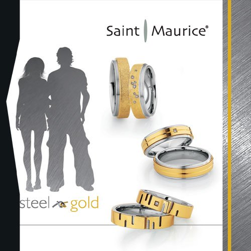 Saint Maurice Steel Gold